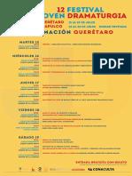 Festival de la Joven Dramaturgia Querétaro 2014