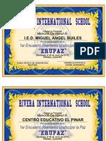 Diplomas Bandas de Paz