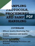 2017_Water Sampling Protocols and Handling