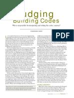 Judging Building Codes