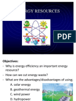 Energy Resources Ppt.