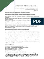 Iniciocursoescolar2011-2012