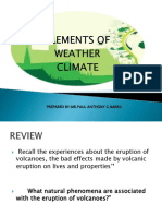 Elements of Weather Climate Quarter 4 Week 3 Day 1-Day 41