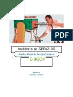 E-book Auditoria SEFAZ RS CESPE 2019 Tonyvan Carvalho