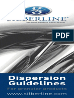Dispersion Guidelines