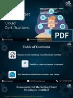 Reason to Get Marketing Cloud Certifiactions