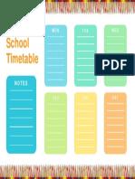 Timetable 07