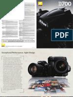 D700 Brochure