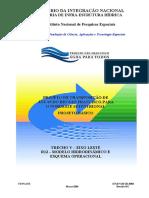 Modelo Hidrodinamico e Esquema Operacional