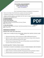 Kalainila-Resume M.tech