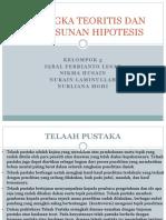 Kerangka teoritis dan susunan hipotesis