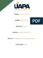 Tarea I Fundamentos y Estructura Del Curriculo Dominicano