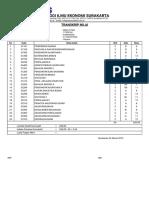 Cetak Transkrip Sementara - Portal Akademik