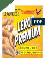 Lekor Poster Front