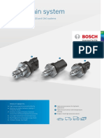 Product Data Sheet High Pressure Sensor