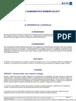 Acuerdo Gubernativo 82-2017