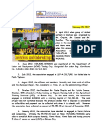 A Narrative on HINASKI-WORASS Activities and Undertakings