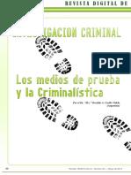 257468317 Investigacion Criminal Los Medios de Prueba y La Criminalistica