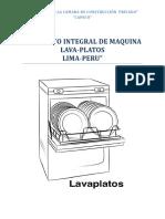 Lava Vajilla Monografia