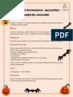 Bases Del Concurso Administración - Halloween