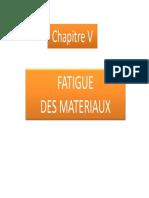 5- Fatigue Des Materiaux