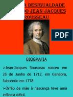 S.a.8. a Desigualdade Segundo JEAN-JACQUES ROUSSEAU