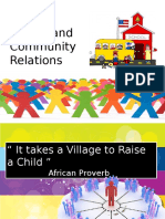 Lesson 2 School and Community Relations Report