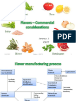 Flavors - Commercial Considerations