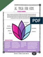 WY Quality Counts Kid Yoga Card Deck