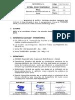 ESO-TD-SC-04-01 Estándar de Prevención de Caida de Rocas