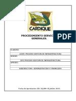 Proced i Mien to Servicios General Es