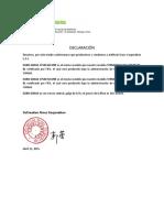 Declaración Del Euro Grass 50 Mm, 60 Mm (Artificial Grass Corporation Sac) (1)