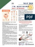 Heat Stroke Awareness