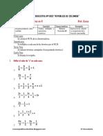 Problemas Propuestos de Ecuaciones Fraccionarias II Ccesa007