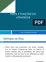 6º Tema - Ètica e Deontologia Profissional
