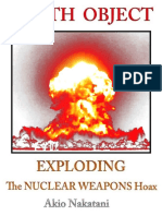 (1) Akio Nakatani-Death Object - Exploding the Nuclear Weapons Hoax (2017)