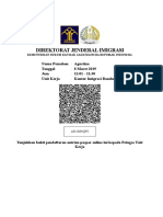 Daftar Pemohonan paspor