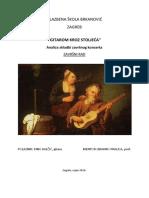 Završni rad Gitarom Kroz Stoljeća