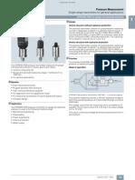 SITRANS P200 pressure transmitter