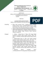Sk Petugas Yang Bertanggungjawab Melaksanakan Kegiatan Mutu Layanan Klinis Dan Keselamatan Pasien