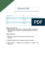 Evaluacion Final Alternativa