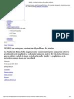 LEMON, un corto para concienciar del problema del plástico