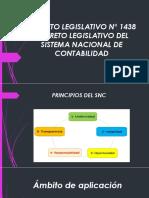 Decreto Legislativo n 1438 Decreto Legislativo Del