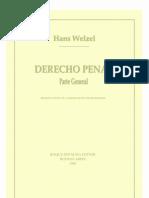 Welzel Hanz  DERECHO PENAL PARTE GENERAL