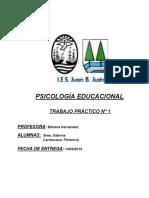 TP Psicología Educacional