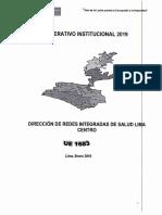 POI 2019 DIRIS LIMA CENTRO