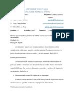 Analisis Cualitativo Detergente y Petroleo