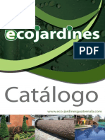 Catalogo Jardines Guatemala