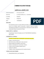 Curriculum Vitae - Jlra