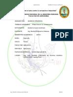 Informe Quimica Organica Practica Nº 2 Cristalizacion